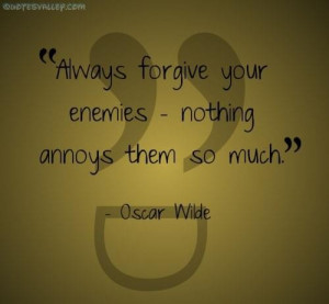 Forgive enemy quote