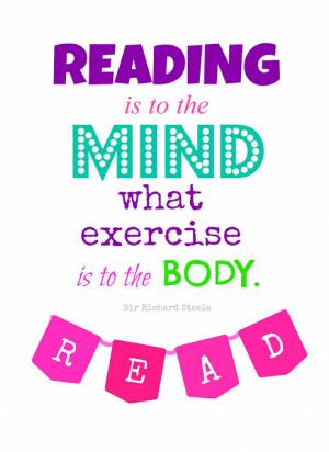 Reading Quote {printable}