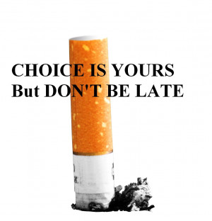 THE NEGATIVE EFFECTS OF SMOKING CIGARETTES