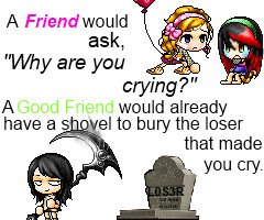 Friendship Quote by iiGurl