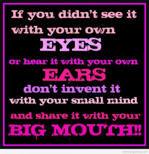 Mean People Quotes And Sayings Quote for mean people