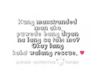 pinoy #pinoyquotes #tagalogquotes #banat #kilig #love #lovequotes # ...