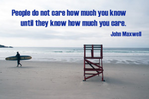 inspirational quote of the week people do not care how much you know ...
