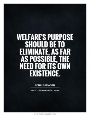 Ronald Reagan Quotes Welfare Quotes