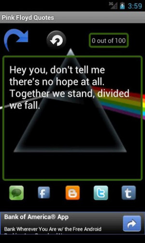 Quote Pink Floyd Quotes