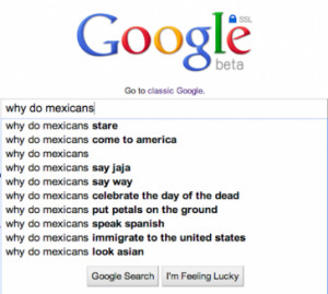 Cultural Stereotypes Through the Lens of Google Search [SCREENSHOTS]