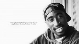 Tupac Shacur 41 Birthday tribute wallpaper with 2pac's popular quote