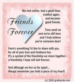 poems friendship poems
