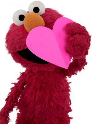 cute, elmo, hearts