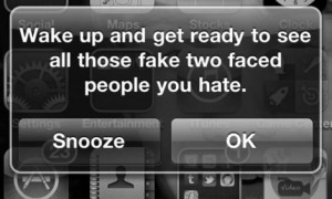 Wake Up To See The Fake People You Hate
