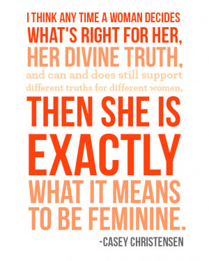 Within my understanding, feminism is about... | meganhunt.