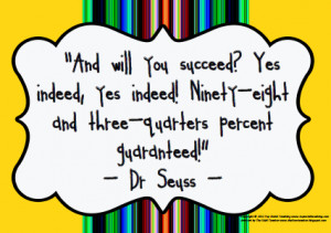 30 Dr Seuss Quotes Poster For Sale