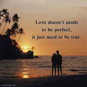 be perfect love quotes quotes quote sunset tropical couple love quote ...