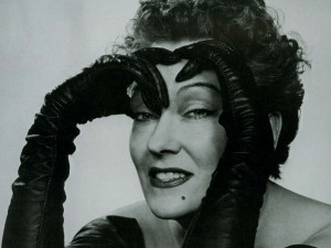 ... old picture of Gloria Swanson, sent to me by one of my loyal clients