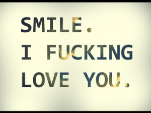 cute, i love you, love, smile, text