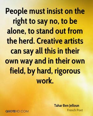 Tahar Ben Jelloun Quotes