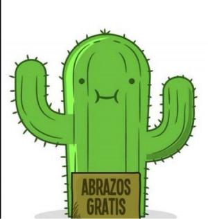 Cactus abrazos gratis