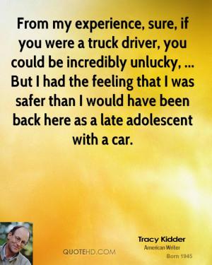 TRUCK DRIVER SAYINGS