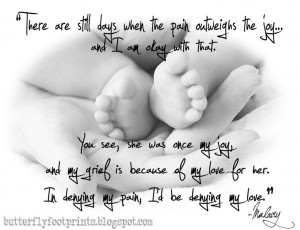 Spoken Grief; Baby Loss; Grief Quote