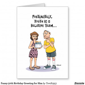Funny 50th Birthday Cards Funny 50th Birthday Greeting