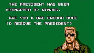 the president has been kidnapped by ninjas are you a bad enough dude ...