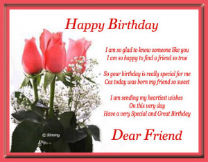 Wish your close friends/ buddies with this warm birthday message.