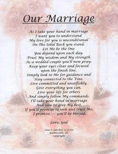 Wedding Poems | ... Original Inspirational Christian Poetry - Poems ...