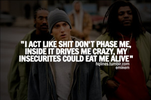 eminem, slim shady, hqlines, sayings, quotes - inspiring picture on ...