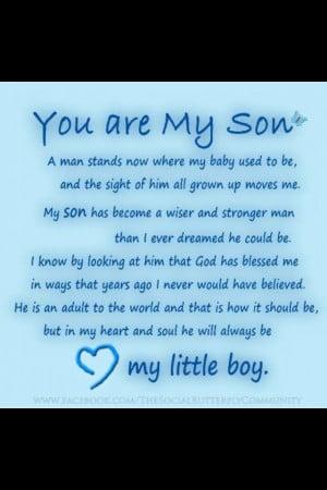 Happy 18th Birthday: Birthday Quotes Sons, Quotes Happy Birthday Sons ...