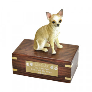 Pet Memorial Wood Urn Dog Urns