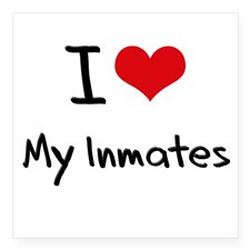Love My Inmates Sticker for