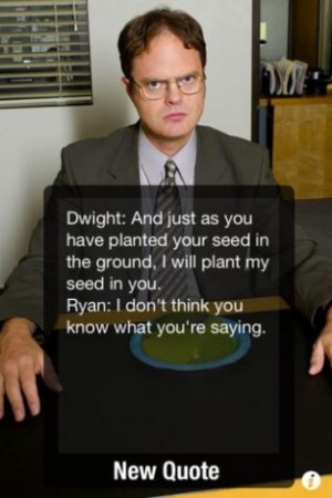 View bigger - The Office Quotes for iPhone screenshot