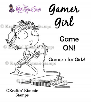 Gamer Girl Quotes Gamer girl - $8.00 : kraftin
