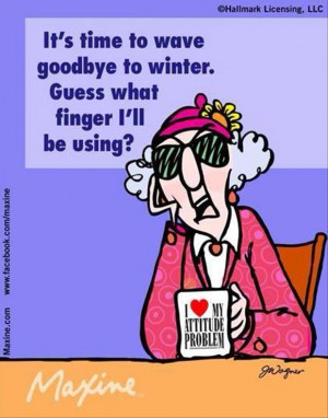 good bye to winter