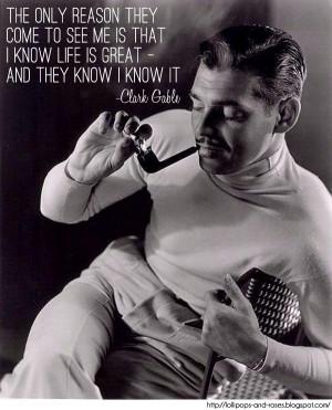 Classic Quotes: Clark Gable
