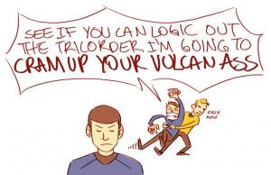comics star trek spock leonard mccoy king of my heart star trek ...