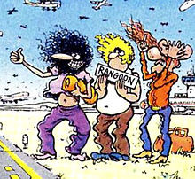 The Fabulous Furry Freak Brothers, from left to right, Phineas, Fat ...