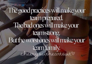 Practices. Cheer. Family. This is the truest thing about cheer I've ...
