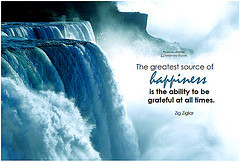 Zig Ziglar The greatest source of happiness is the ability to be ...