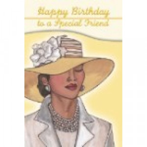 Birthday Cards-Happy Birthday To A Special Friend
