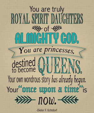 You are truly royal spirit daughters…