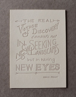 ... Proust, Almanac Industrial, Proust Quotes, Real Voyage, Hands Letteing
