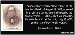 More Edward Everett Hale Quotes