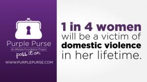 Allstate Foundation Purple Purse: End Domestic Violence