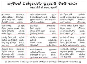 Sinhala Wal Kata Bio Techear New