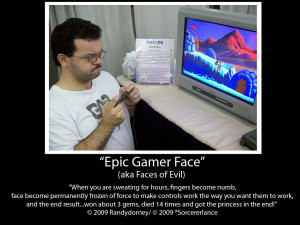Epic Gamer Face 2009 by Randydorney