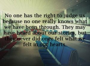 emo, judge, quotes, sad, truth, words