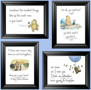 winnie the pooh wall quotes for nursery