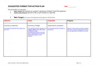 Quotes Pictures List: Action Plan Template