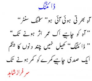 Latest New Funny Urdu Poetry 2013 for Facebook